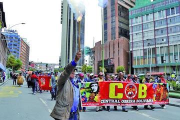 COB advierte huelga indefinida si Gobierno no atiende demandas