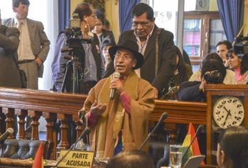 Suspenden nuevamente el juicio contra el exmagistrado Gualberto Cusi