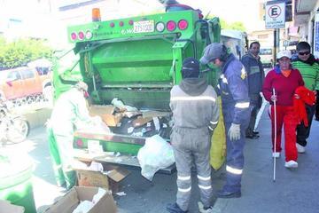 Aumenta la generación de basura en la ciudad de Potosí