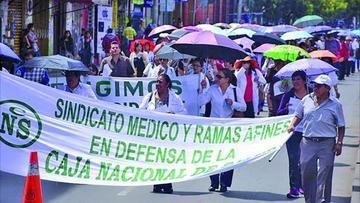 Trabajadores de la CNS irán al paro indefinido desde el 24 de enero