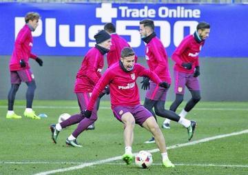 """Atlético recibe a Eibar en la """"Vicente Calderón"""""""
