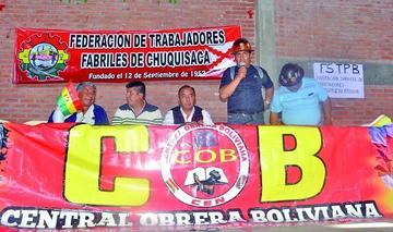 COB se declara en emergencia y advierte con huelga indefinida