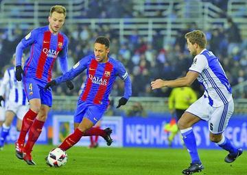 Barcelona vence a Real Sociedad