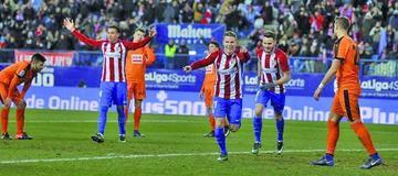 La pegada del Atlético Madrid noquea al Eibar