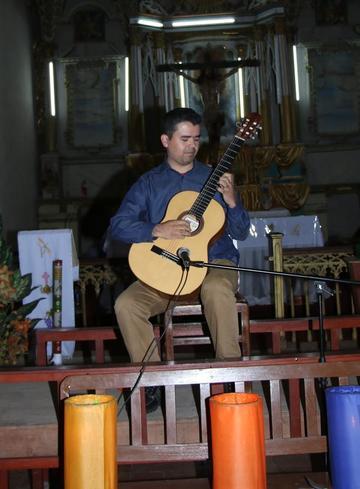 Dedican un recital de guitarra a San Lorenzo