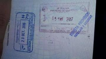 Dirección de Migración ordena la destrucción de sello para turistas