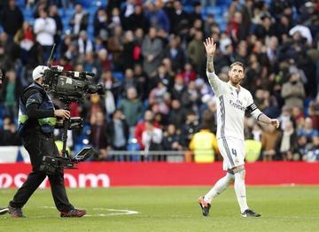 Real Madrid gana 2-0 a Málaga