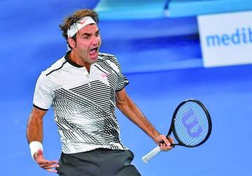 Nishikori pone a prueba a Roger Federer