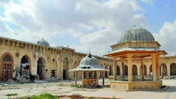 Alepo tiene daño de su patrimonio