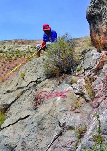 Hoy inicia estudio de suelo para la fábrica de cemento en Potosí