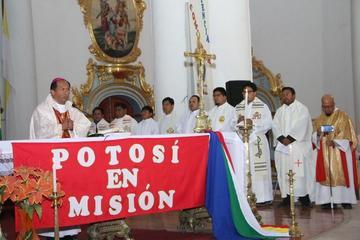 Cierra congreso Potosí en misión