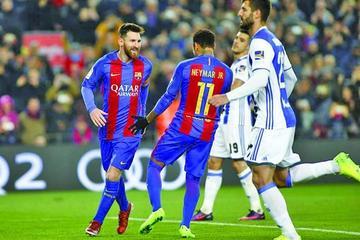 Barza golea a la Real Sociedad