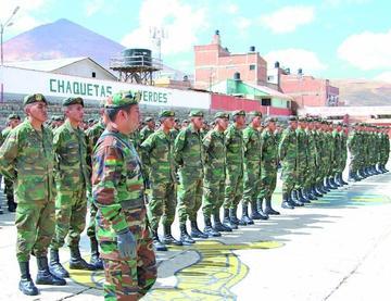 Soldados del primer escalón ya fueron licenciados