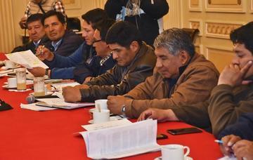 Diálogo COB y Gobierno comienza esta semana