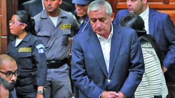 Aplazan audiencia del juicio a un expresidente de Guatemala