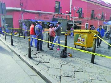 Elaboran mejoras en la zona central de la ciudad de Potosí