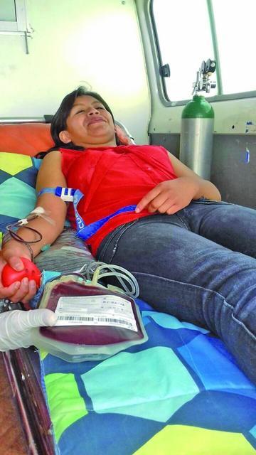 Incentivan la donación voluntaria de sangre
