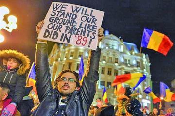Miles rechazan despenalizar los casos de corrupción en Rumania