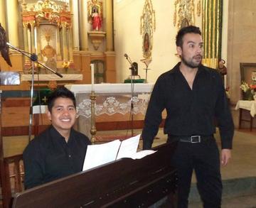 Interpretan obras de ópera Barroca