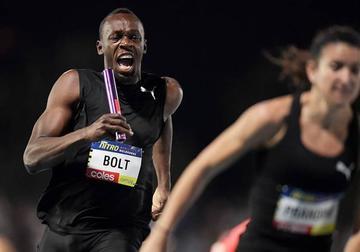 Bolt lidera el triunfo del equipo All Stars