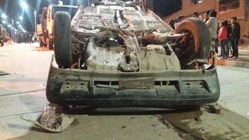 Accidente en la avenida Canadá deja solo daños materiales