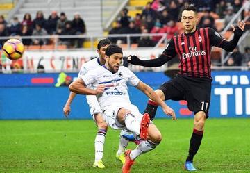 Sampdoria gana a Milan y le agrava la crisis