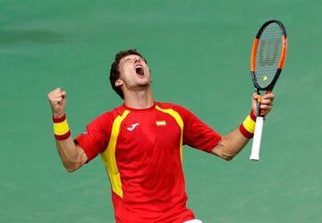 España gana a Croacia y va a cuartos en la Davis