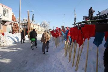 Sube a 108 los muertos por las fuertes nevadas en Afganistán