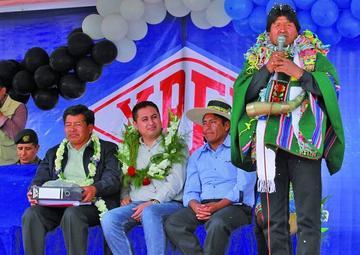 El presidente Evo Morales suspende su agenda por motivos de salud