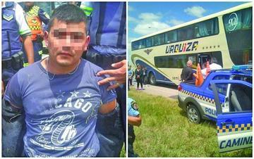 Detienen a acusado de matar a su pareja y a otros 5 en Argentina