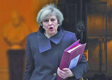 Aprueban ley para la salida del Reino Unido de la Unión Europea