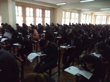 Más de mil postulantes rinden el segundo examen en la UATF