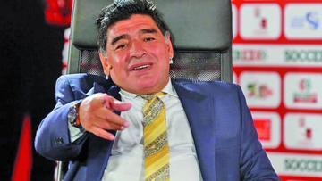 Diego Maradona se incorpora a la FIFA