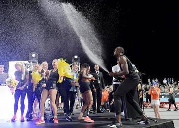 El equipo de Bolt gana el Nitro Athletics