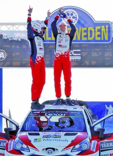 Latvala se corona campeón en el rali de Suecia