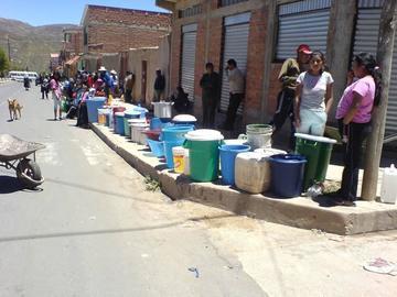 Garantizan recursos para bombeo La Palca - Potosí