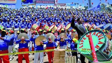 Músicos tocarán a la Madre Tierra en el XVI Festival de Bandas de Oruro