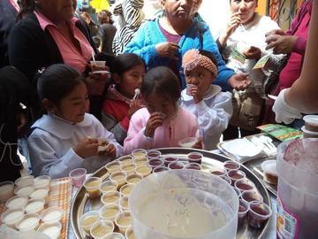 Invierten cerca de Bs 20 millones en desayuno escolar