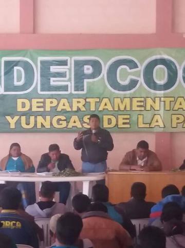 Cocaleros Yungueños cercarán plaza Murillo desde hoy viernes