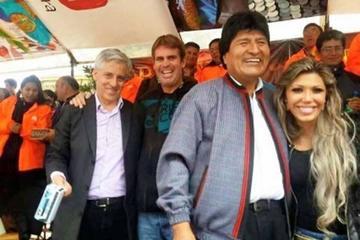 Oposición descalifica la entrevista a la expareja del presidente Morales