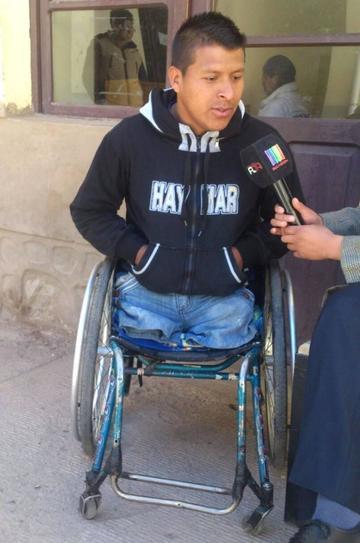 Una juez envía al discapacitado Jara a la cárcel de Patacamaya