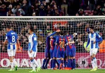 Barcelona logra una sufrida victoria ante Leganés
