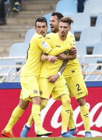 Castillejo le da la victoria al Villarreal