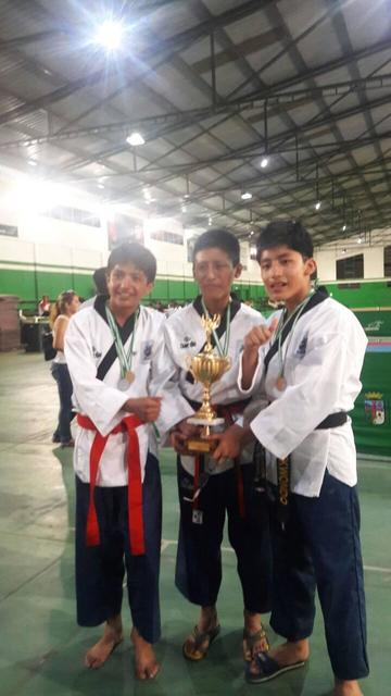 Potosí gana medallas de oro en el nacional de taekwondo