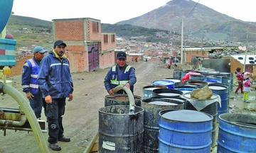 Vacuyo declara alerta  en defensa de su agua