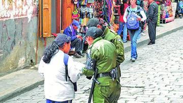 La Policía reporta incremento de turistas