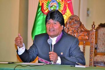 Morales: Bolivia logra $ 200 millones para la lucha contra la sequía
