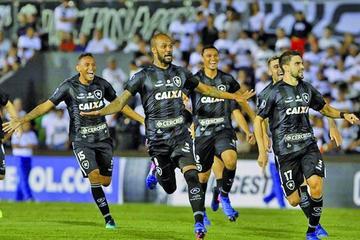 Botafogo vence en penales a Olimpia