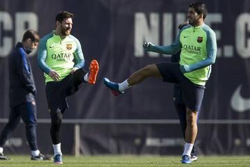 """El Barza empieza a preparar la visita al """"Calderón"""""""