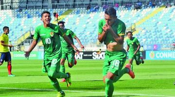 La selección de Bolivia vence a Colombia en la Sub-17